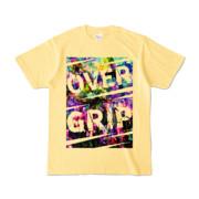 Tシャツ | ライトイエロー | OverGrip巻いてますか?