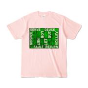 Tシャツ | ライトピンク | Super☆MixTennis
