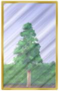 背景イラスト・硝子(ガラスを描いてみた)