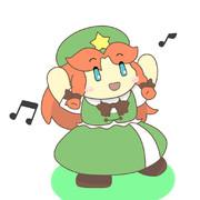 陽気に踊る美鈴