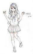 狭霧さんとお絵描き練習3