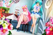 【今日のYYBルカさん】ルカお姉さんと お茶会…♡