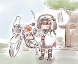 気分転換のおバイク♪