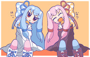 可愛い琴葉姉妹