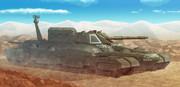 無人原子力多砲塔戦車「アキリーズ」