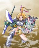 オリジナル女戦士(昔のイラストを晒す)