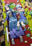 オリジナル女剣士(昔のイラストを晒す)