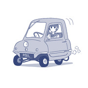 ビーノの代車できた車