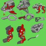 バーニングライガー 塗装イメージ