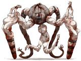 フォロワーの好きな要素を詰め込んだ創作獣を描くやつ その12