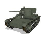 【MMDモデル配布】 T-26軽戦車(1935年型)