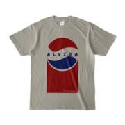 Tシャツ | シルバーグレー | Alvida_Cola☆Drink