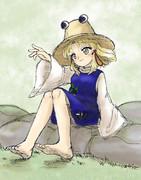 裸足の諏訪子