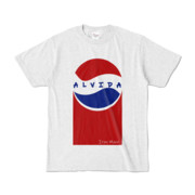 Tシャツ | アッシュ | Alvida_Cola☆Drink