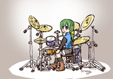 ともえドラム