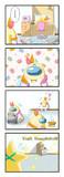 星川4コマ漫画(4月)