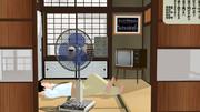 昭和の匂いがするレトロ扇風機