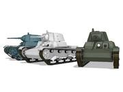 【MMDモデル配布】 T-26/OT改軽戦車