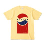 Tシャツ | ライトイエロー | Alvida_Cola☆Drink