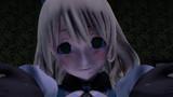 薄暗い部屋で満足げな顔をしている愛宕さん