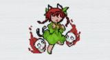 [minecraft 1.16.5]キャラのみ No.109 りん[東方人形劇]