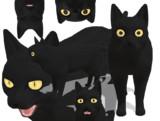 【MMD】黒猫