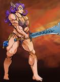 【DQ3】女戦士・雷神の剣