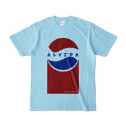 Tシャツ | ライトブルー | Alvida_Cola☆Drink
