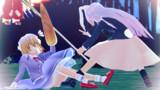 燕石博物誌挿絵~序ノ弐~ 竹林の大鼠 蓮子「最後バトル物っぽくしちゃおうか」【カラー版】