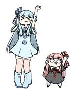 普通の琴葉姉妹