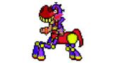 【ドット絵】蛇と邪神とアルフレイム冒険譚のハリー・エレジー(人馬一体モード)
