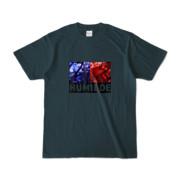 Tシャツ | デニム | HUMILDE_Blue&Red