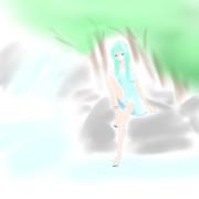 水辺の妖精?
