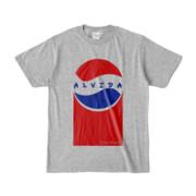 Tシャツ | 杢グレー | Alvida_Cola☆Drink