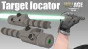 Target locator【MMDモデル配布】