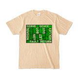 Tシャツ | ナチュラル | Super☆MixTennis
