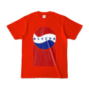 Tシャツ | レッド | Alvida_Cola☆Drink