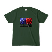 Tシャツ   フォレスト   HUMILDE_Blue&Red