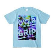 Tシャツ | ライトブルー | OverGrip巻いてますか?