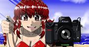 Nikon少女を描いてみた。2