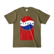 Tシャツ | オリーブ | Alvida_Cola☆Drink