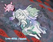 【ファンアート】とべない深海魚