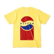 Tシャツ | イエロー | Alvida_Cola☆Drink