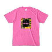Tシャツ   ピンク   MELHOR☆Flower_Square