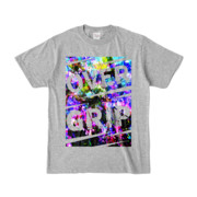 Tシャツ | 杢グレー | OverGrip巻いてますか?