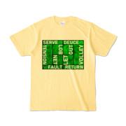 Tシャツ | ライトイエロー | Super☆MixTennis