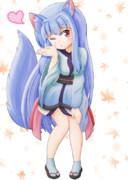 狐っ子葵ちゃん