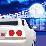 MMD車 ゲームジャケ風に R33