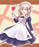 武良崎ゆき メイド喫茶コラボ衣装