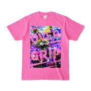 Tシャツ | ピンク | OverGrip巻いてますか?